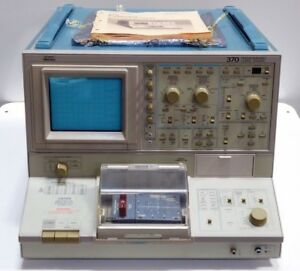 Tektronix 370 Programmable Curve Tracer With Manual