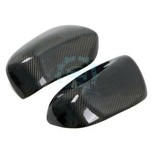 For Subaru Impreza 10 2008 2010 Carbon Fiber Rearview Mirror Cover Exterior Trim