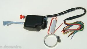 Black Universal Turn Signal Switch 3 Year Warranty Willys And Jeep Model 46 71 B