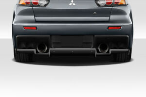 2008 2015 Mitsubishi Lancer Evolution 10 Duraflex Vr S Rear Diffuser 113560