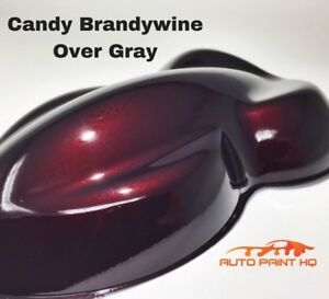 Candy Brandywine Over Gray Basecoat Tri Coat Gallon Car Vehicle Auto Paint Kit