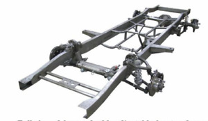 Ford Pickup Truck Steel Frame Rolling Chassis 1953 1956