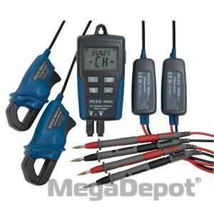 Reed R5003 nist Ac Voltage current Data Logger With Nist Certificate