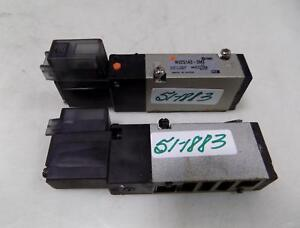 Smc Pneumatic Valve Lot Of 2 Nvz5143 5mz