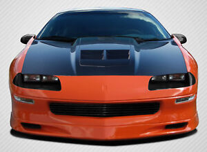 93 97 Chevrolet Camaro Carbon Fiber Zl1 Look Hood 1pc Body Kit 108904
