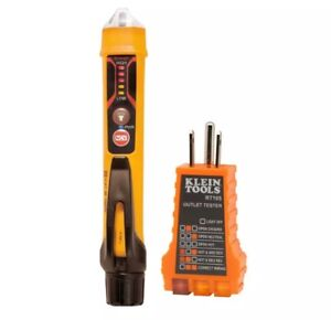 Dihgital Non Contact Voltage Detector Tester Electrical Test Kit With Flashlight