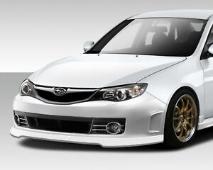08 14 Impreza 08 10 Impreza Wrx Sti Look Front Bumper 1pc Body Kit 108757