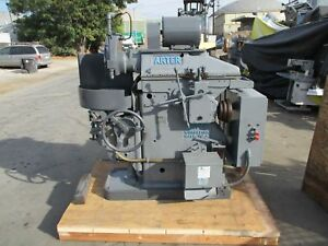 Arter Horizontal Spindle Rotary Surface Grinder 13 Round Chuck Model A 1 12