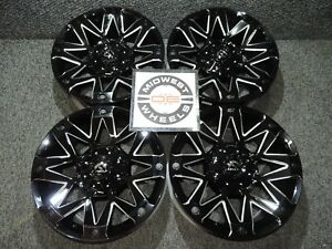 Escalade 6 Lug Fuel Ambush Wheels Rims 20 20x9 6x139 7 20mm D55520909857