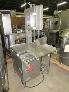 Hollymatic Hi Yield 14 16 Stainless Steel Band Saw