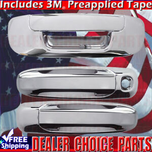 2002 2008 Dodge Ram 1500 03 09 2500 3500 Chrome Door Handle Covers Nopk Tailgate