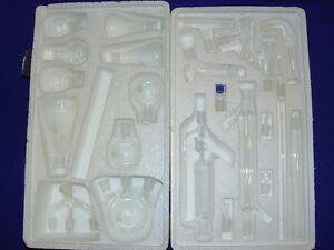 Organic Chemistry Lab Kit 22 Pieces 19 22 With Case High Quality