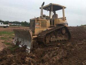 1996 Caterpillar D4h Xl Crawler Bull Dozer Diesel Wide Track Cat Bulldozer 6 Way