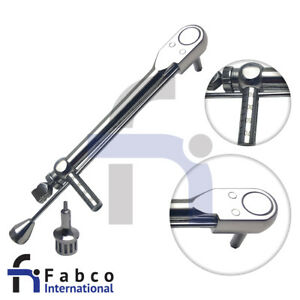 Dental Implant Torque Wrench Straumann Hex Drivers Short Long Implant Instrument