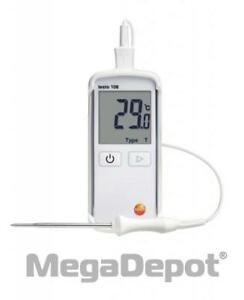 Testo 0563 1080 108 1 Waterproof Digital Food Thermometer With K Thermocouple