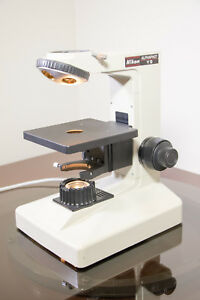 Refurbished Nikon Alphaphot Ys Microscope Base With Free Polarized Lighting Kit