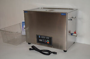 Dsa800se gl2 30l 8gal 1600w 20khz 40khz Ultrasonic Parts Cleaner basket lid