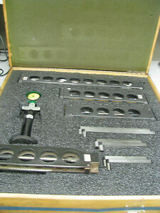 Johnson Gage Thread Checking Gage Set W Standards And Case Dm6
