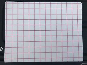 Heat Transfer Paper light Colored T shirt Red Grid 8 1 2x11 200 Sheets