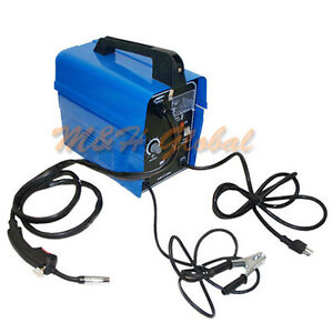 Dual Wire Arc Flux Mig Welder Welding Soldering Machine 55 90 Amp