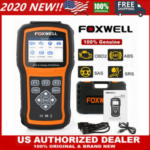 Foxwell Nt630 Plus Abs Airbag Srs Reset Obd2 Car Code Reader Scanner Diagnostic