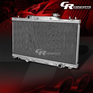 Full Aluminum Racing 2 row Radiator For 2002 2006 Acura Rsx Dc5 Type s base l