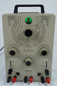 Vintage Heathkit It 28 Capacitor Checker Tester