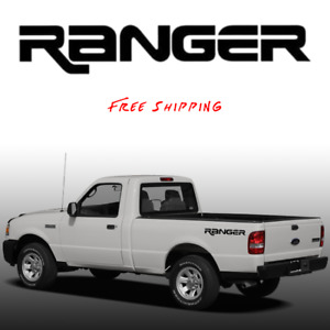 Ford Ranger Vinyl Decal Replacement Sticker Set Truck Bed Side Tailgate Kit