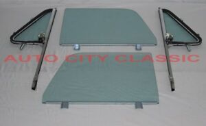 64 65 66 Chevrolet Gmc Pickup Truck Glass Gt Vents In Post Doors In Channel