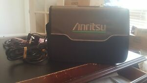 Anritsu Spectrum Analyzer Ms2724c 9 Khz To 20 Ghz Options 25 31