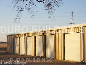 Duro Steel Mini Self Storage 20x150x8 5 Metal Building Kit Structures Direct