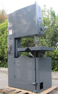 Grob 24 Throat Vertical Bandsaw Band Saw Ns24 With Blade Welder