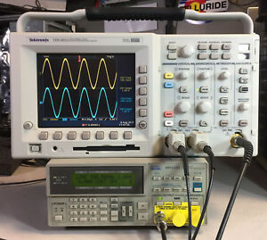 Tektronix Tds3052 2 Ch Dpo Oscilloscope 500mhz 5gs s Options 2 Hours