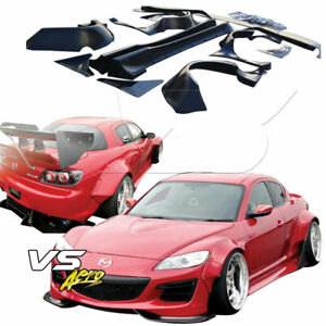 Vsaero Frp Tkyo Bunny Wide Body Kit For Mazda Rx 8 Se3p 09 11