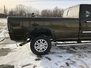 Dodge Ram Longbed 8 Long Truck Bed Heavy Duty 1500 2500 3500 Used Black Gold