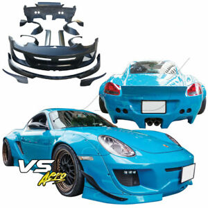 Vsaero Frp Tkyo Bunny Wide Body Kit For Porsche Cayman 987 09 12
