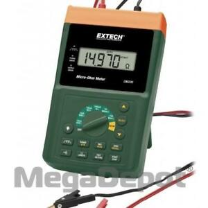 Extech Um200 High Resolution Micro ohm Meter