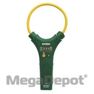 Extech Ma3010 3000a True Rms Ac 10 Flexible Clamp Meter With Lcd