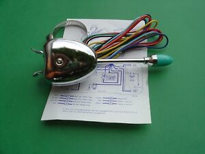 Ford Truck 12 Volt Turn Signal Switch Vintage Style Universal New