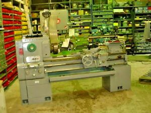 Rebuilt 1961 Cincinnati Engine Lathe 15 X 42 Hydrashift With Taper Attachment