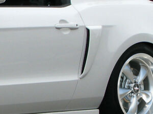 10 14 Ford Mustang Duraflex Boss Look Side Scoops 2pc 109324