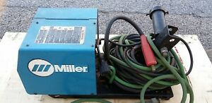 Miller 22a Wire Feeder Mig Welder Wirefeeder With Leads