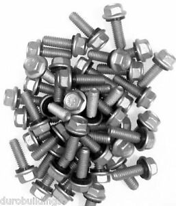 Duro Steel Building 1000 Count 5 16 X 1 New Arch Grain Bin Bolts nuts
