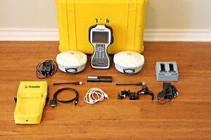 Trimble Dual R8 Model 2 Gps Gnss Glonass Base Rover Rtk System W Tsc3 Access