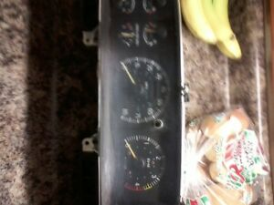 Ford Truck Gauge Cluster With Tach Diesel Manual Transmission 87 91