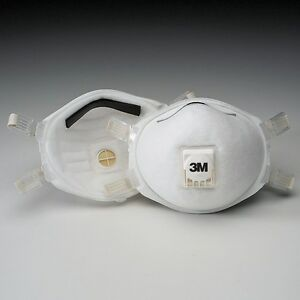 3m 8512 N95 Exhalation Valve Disposable Welding Fume Respirator Masks 10 box