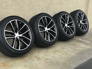 20 Charger Challenger Rt Scat pack Black Wheels Rims Factory Oem 2526 2017