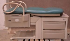 Brewer 6500 06 Access High low Medical Exam Table Examination Doctor W Stirrups