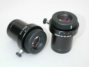 Wild Microscope Eyepieces 20x 13 For 30mm Tubes Nice