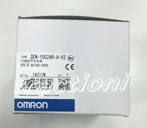 Omron Programmable Relay Zen 10c2ar a v2 New In Box 1 year Warranty